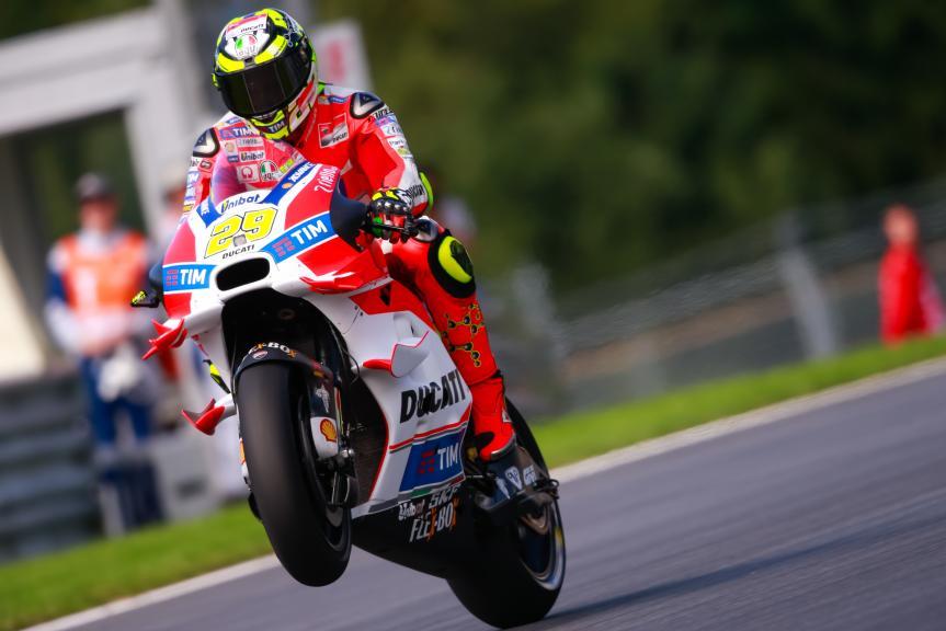 Andrea Iannone, Ducati Team, NeroGiardini Motorrad Grand Prix von Österreich