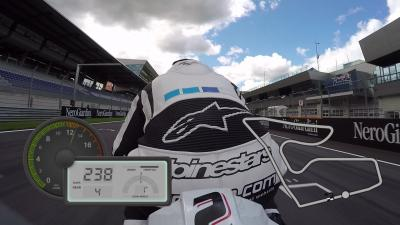 GoPro™ OnBoard auf dem Red Bull Ring