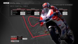 Find out what the ideal MotoGP™ lap from Q2 would have been around the Red Bull Ring.
