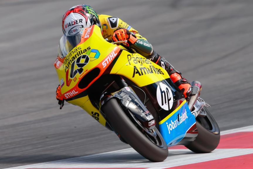 Alex Rins, Paginas Amarillas HP 40, NeroGiardini Motorrad Grand Prix von Österreich