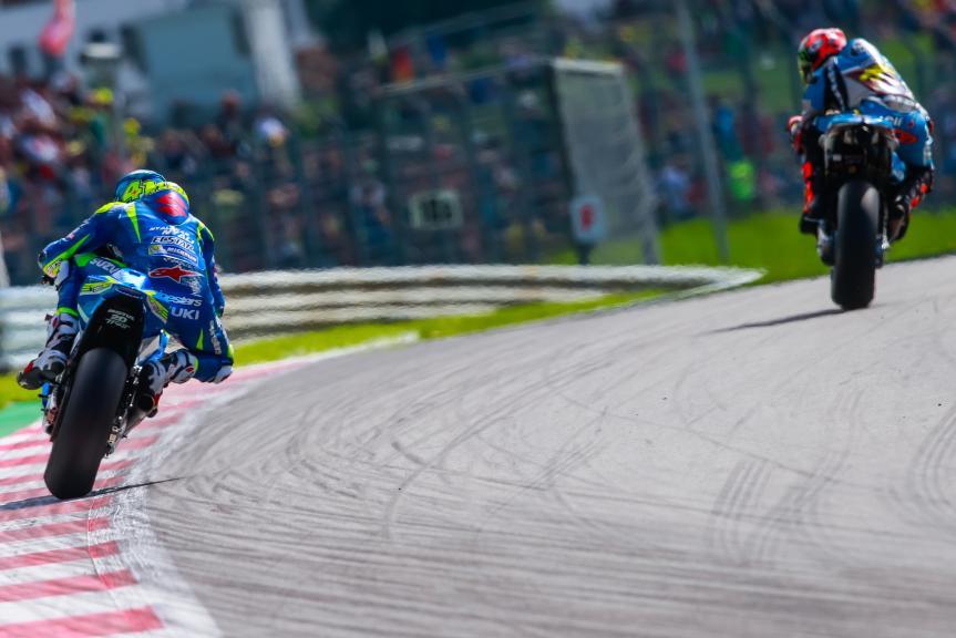 Aleix Espargaro, Team SUZUKI ECSTAR, NeroGiardini Motorrad Grand Prix von Österreich