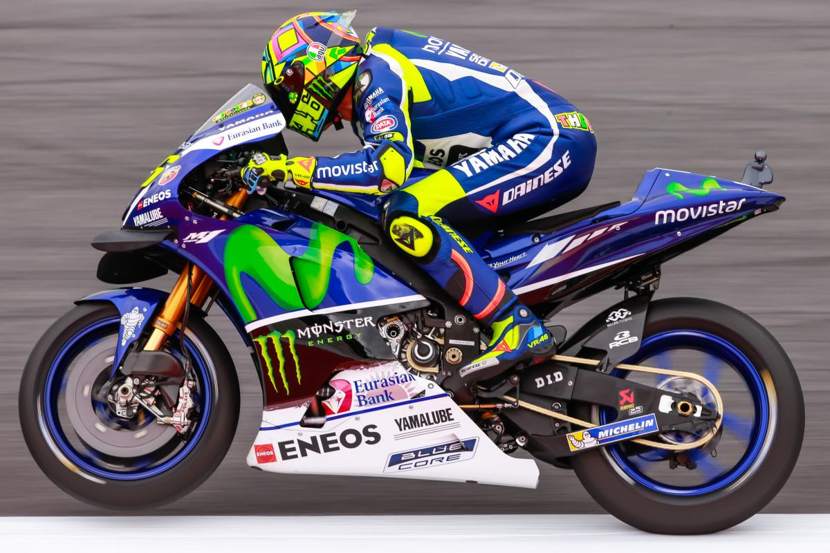 Rossi splits the Ducatis for a P2 start | MotoGP™