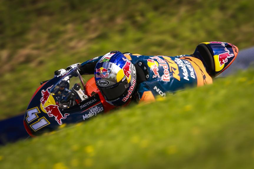 Brad Binder, Red Bull KTM Ajo, NeroGiardini Motorrad Grand Prix von Österreich