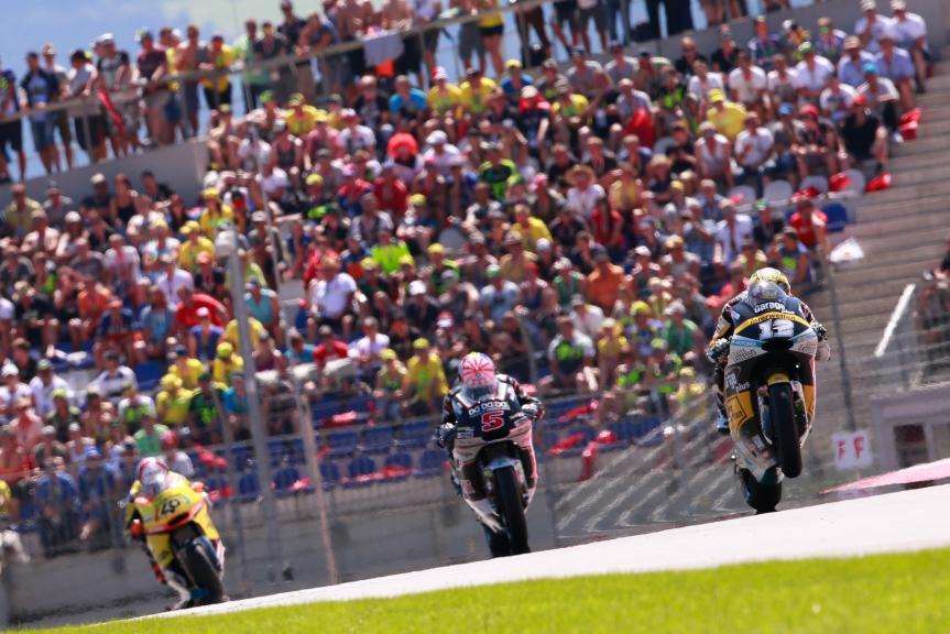 Johann Zarco, Thomas Luthi, Alex Rins, NeroGiardini Motorrad Grand Prix von Österreich