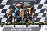 Johann Zarco, Franco Morbidelli, Alex Rins, NeroGiardini Motorrad Grand Prix von Österreich