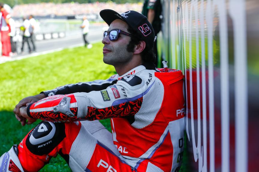 Danilo Petrucci, OCTO Pramac Yakhnich, NeroGiardini Motorrad Grand Prix von Österreich