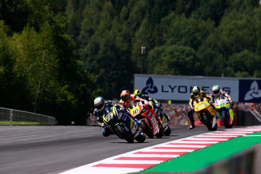 Luca Marini, Xavi Vierge, NeroGiardini Motorrad Grand Prix von Österreich