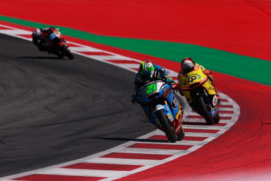 Thomas Luthi, Alex Rins, NeroGiardini Motorrad Grand Prix von Österreich