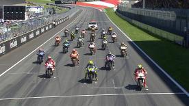 Vidéo intégrale de la course de la catégorie MotoGP™ au Red Bull Ring.