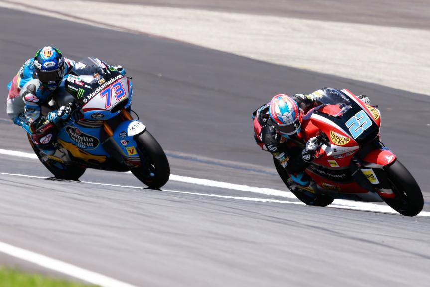 Marcel Schrotter, Alex Marquez, NeroGiardini Motorrad Grand Prix von Österreich