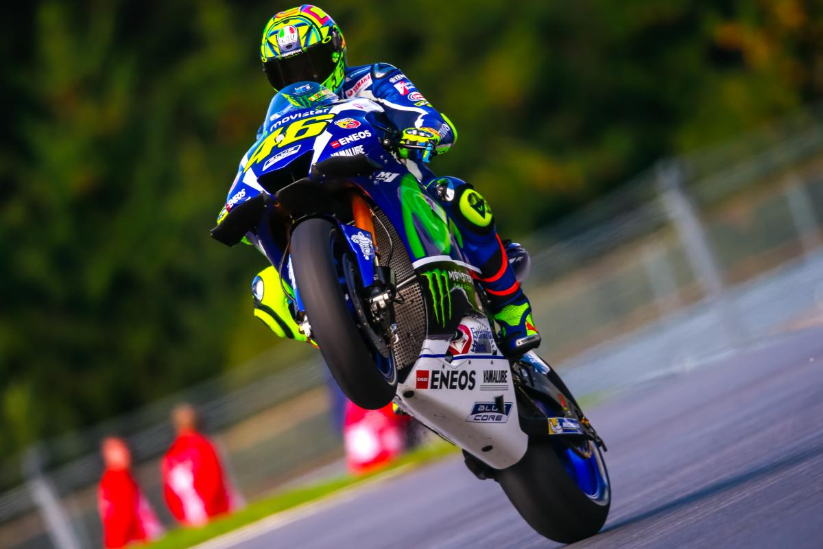 Rossi It Was A Shame I Couldn T Fight With Lorenzo Motogp