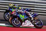 Jorge Lorenzo, Marc Marquez, Valentino Rossi, NeroGiardini Motorrad Grand Prix von Österreich
