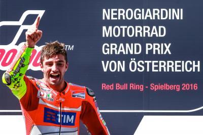 決勝レース:イアンノーネが最高峰クラスで初優勝
