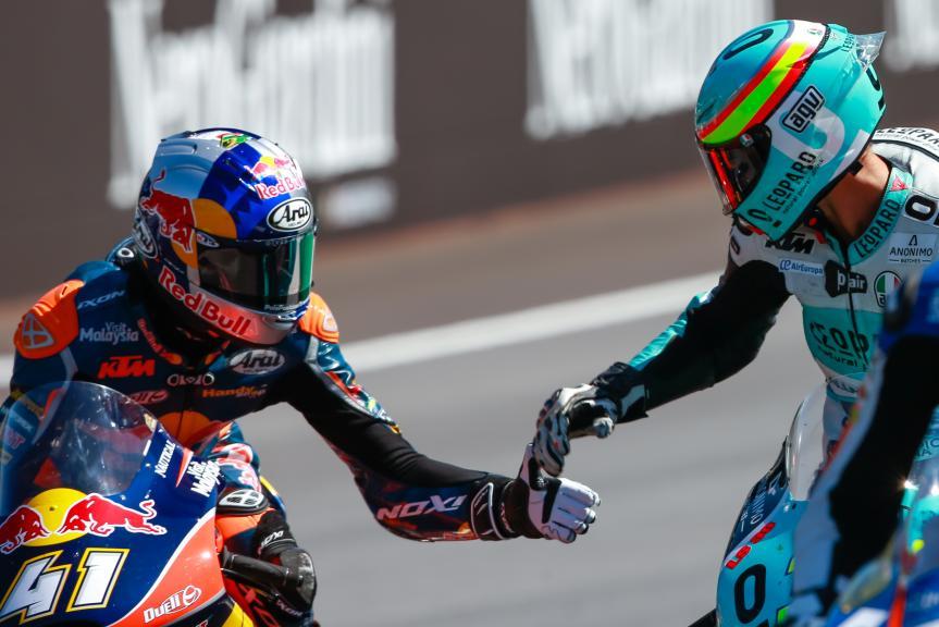 Joan Mir, Brad Binder, NeroGiardini Motorrad Grand Prix von Österreich