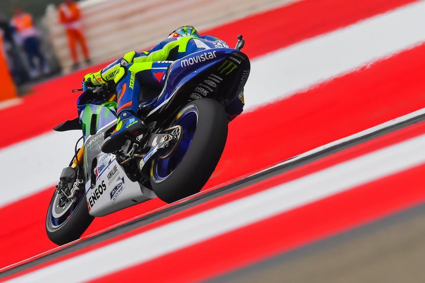 Valentino Rossi, Movistar Yamaha MotoGP, NeroGiardini Motorrad Grand Prix von Österreich