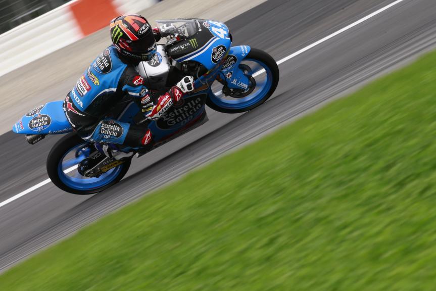 Aron Canet, Estrella Galicia 0,0, Test Austria, Moto 2 & Moto 3