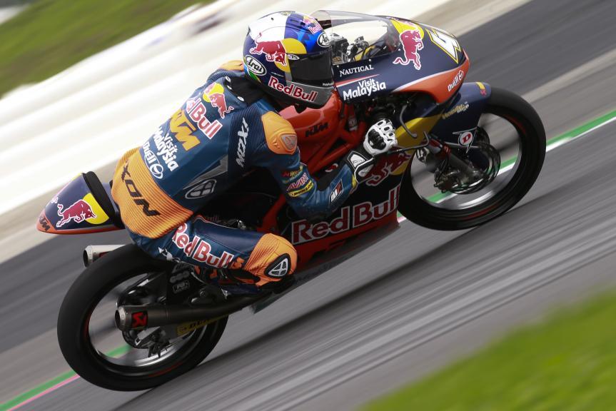Brad Binder, Red Bull KTM Ajo, Test Austria, Moto 2 & Moto 3