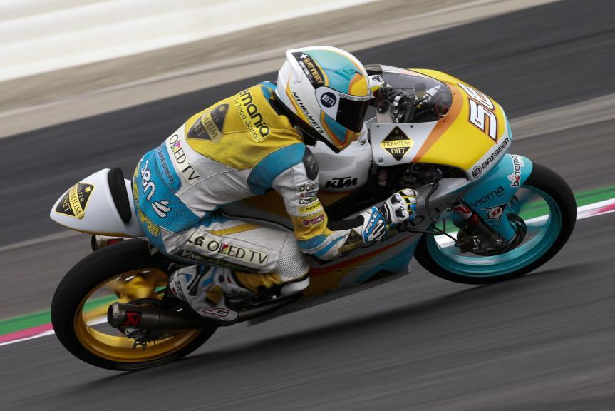 Juanfran Guevara, RBA Racing Team, Test Austria, Moto 2 & Moto 3