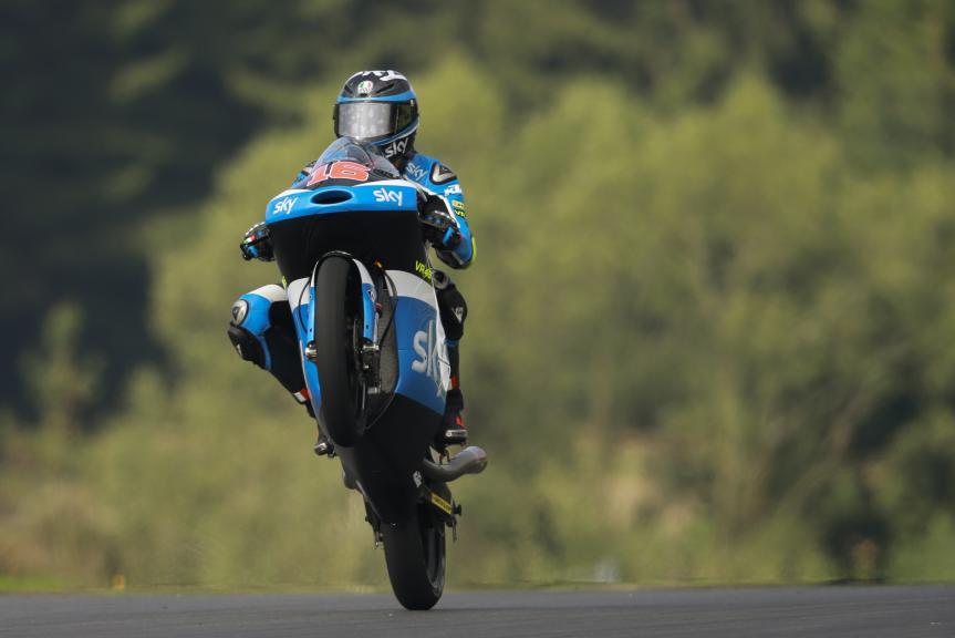Andrea Migno, SKY Racing Team VR46, Test Austria, Moto 2 & Moto 3