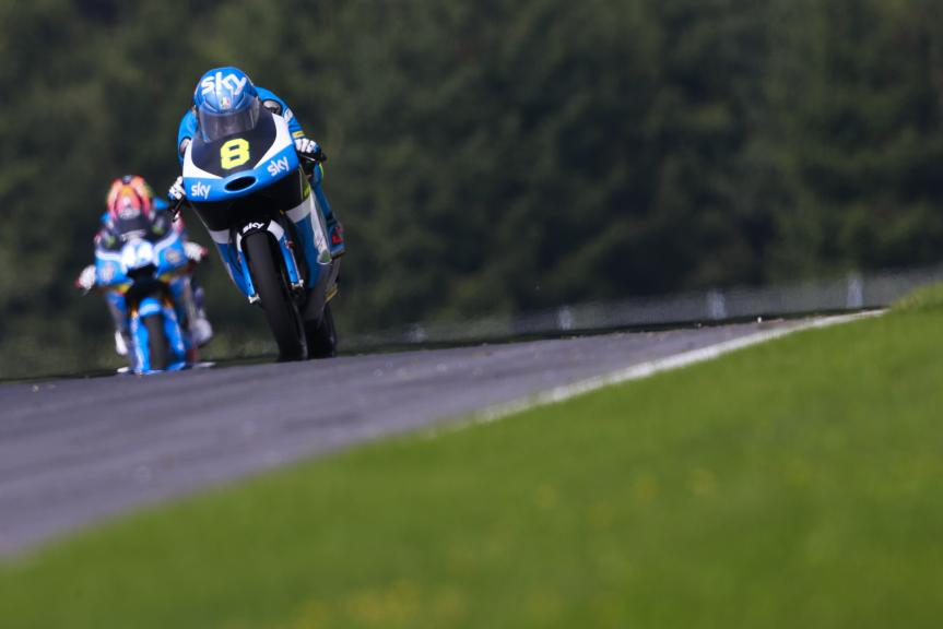 Nicolo Bulega, SKY Racing Team VR46, Test Austria, Moto 2 & Moto 3