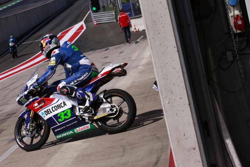 Enea Bastianini, Gresini Racing Moto3, Test Austria, Moto 2 & Moto 3