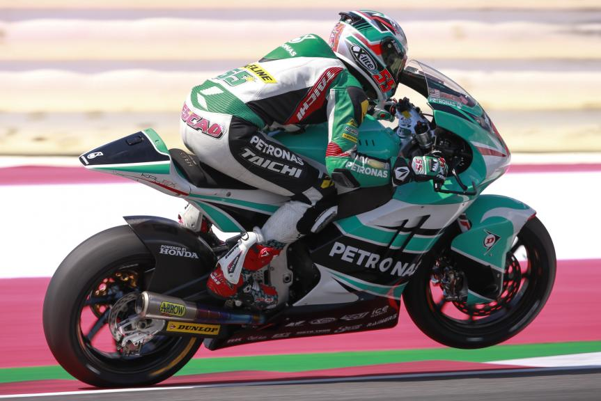 Hafizh Syahrin, Petronas Raceline Malaysia, Test Austria, Moto 2 & Moto 3