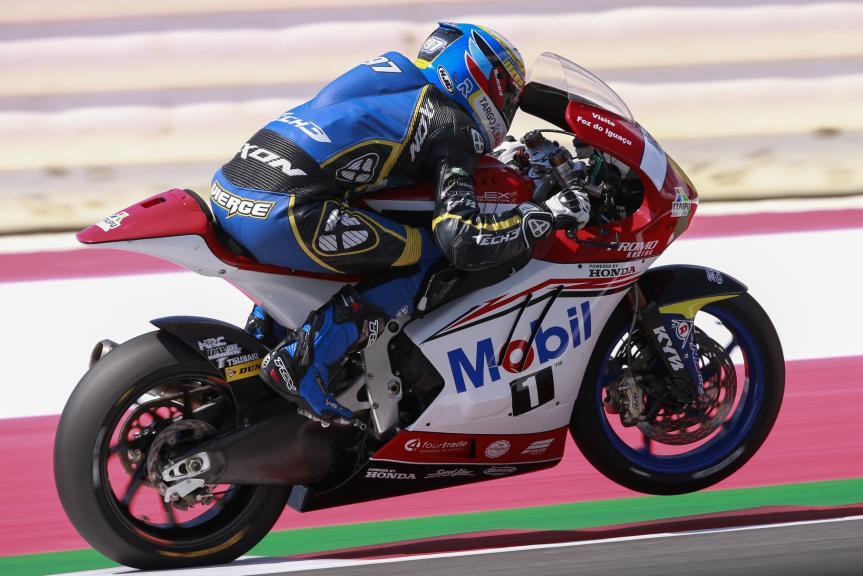 Xavi Vierge, Tech 3 Racing, Test Austria, Moto 2 & Moto 3