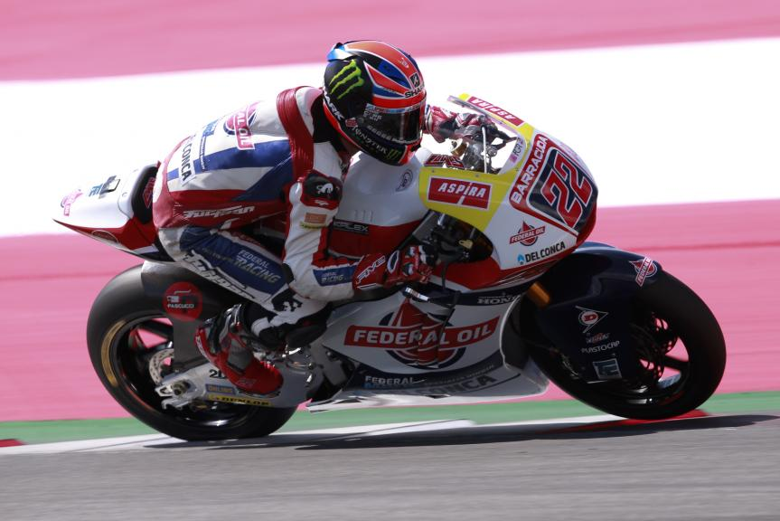 Sam Lowes, Federal Oil Gresini Moto2, Test Austria, Moto 2 & Moto 3