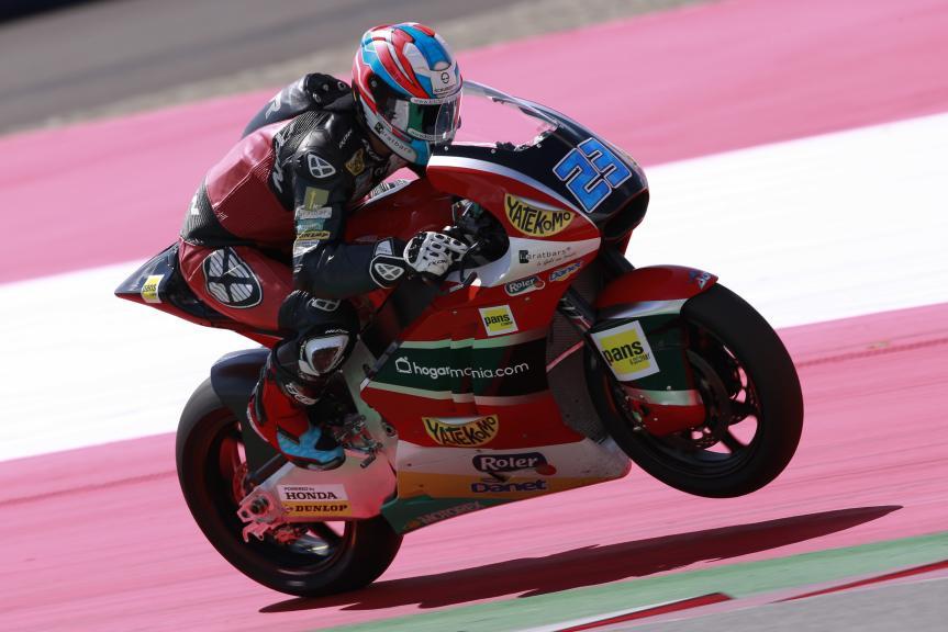 Marcel Schrotter, AGR Team, Test Austria, Moto 2 & Moto 3