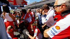 Michelin's Manager of Two-Wheel Motorsport Piero Taramasso explains the process that saw Iannone change to a softer rear on the grid