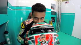 Go behind the scenes with Hafizh Syahrin at the #AustrianGP, filmed exclusively on GoPro™ cameras.