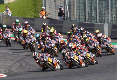 Back-to-back race weekends for the Red Bull Rookies
