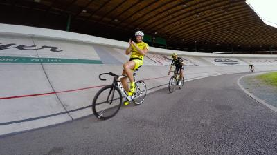 Cycling with a Czech champion