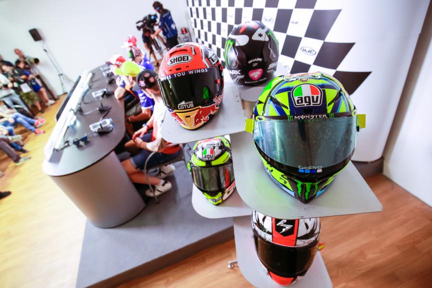 Press conference HJC Helmets Grand Prix České republiky