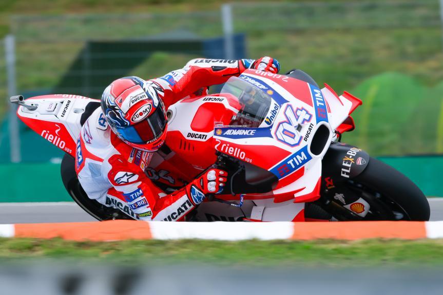 Andrea Dovizioso, Ducati Team, HJC Helmets Grand Prix České republiky