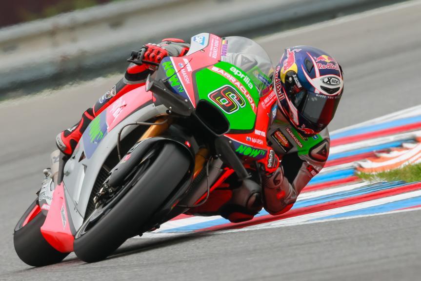 Stefan Bradl, Aprilia Racing Team Gresini, HJC Helmets Grand Prix České republiky