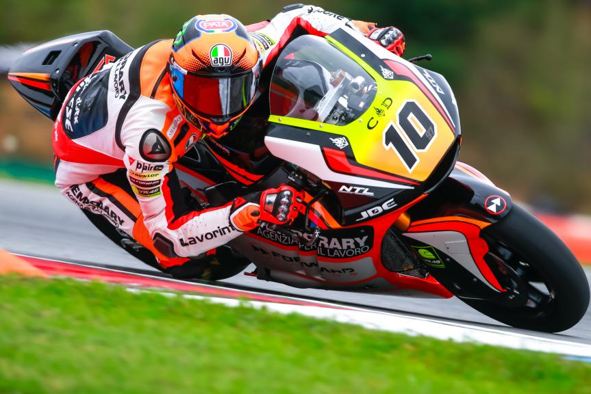Luca Marini, Forward Team, HJC Helmets Grand Prix České republiky