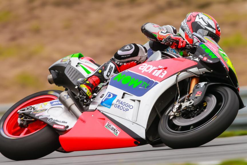 Alvaro Bautista, Aprilia Racing Team Gresini, HJC Helmets Grand Prix České republiky