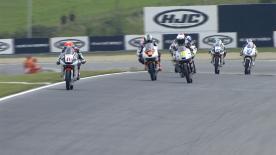 La seconda sessione di prove libere per la Moto3™ al GP della Repubblica Ceca.