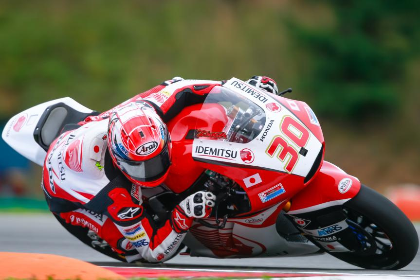 Takaaki Nakagami, IDEMITSU Honda Team Asia, HJC Helmets Grand Prix České republiky