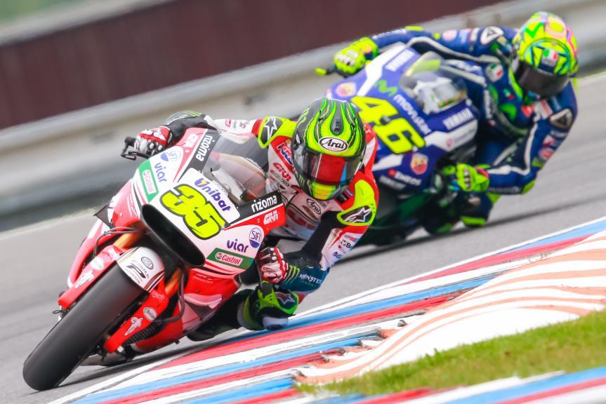 Cal Crutchlow, Valentino Rossi, HJC Helmets Grand Prix České republiky