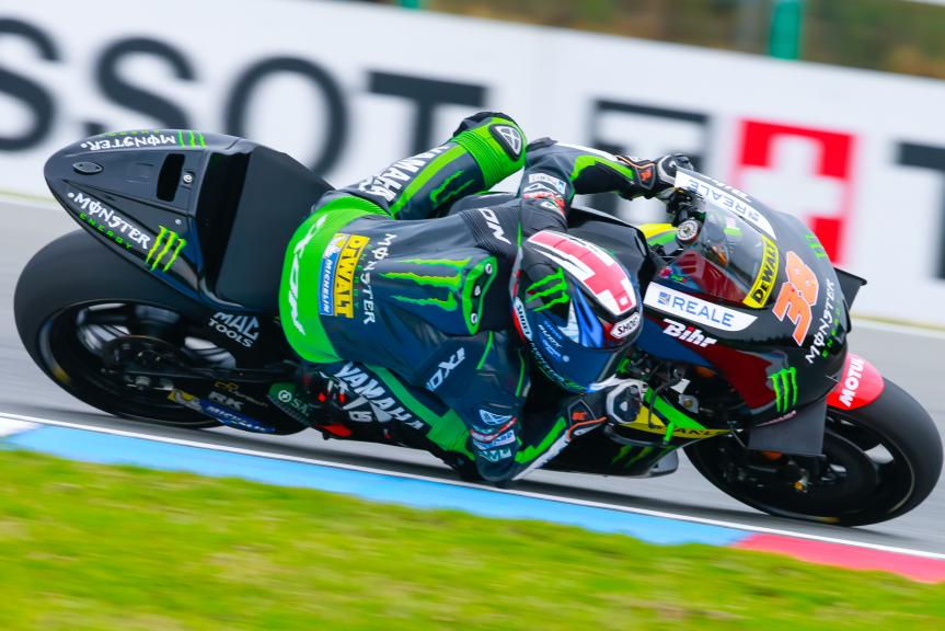 Bradley Smith, Monster Yamaha Tech 3, HJC Helmets Grand Prix České republiky