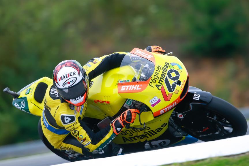 Alex Rins, Paginas Amarillas HP 40, HJC Helmets Grand Prix České republiky