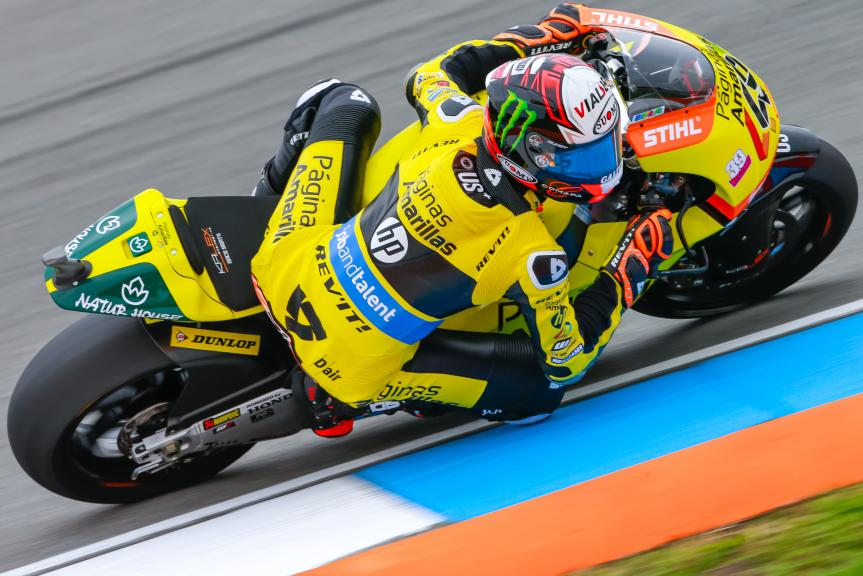 Alex Rins, Paginas Amarillas HP 40, HJC Helmets Grand Prix České republiky