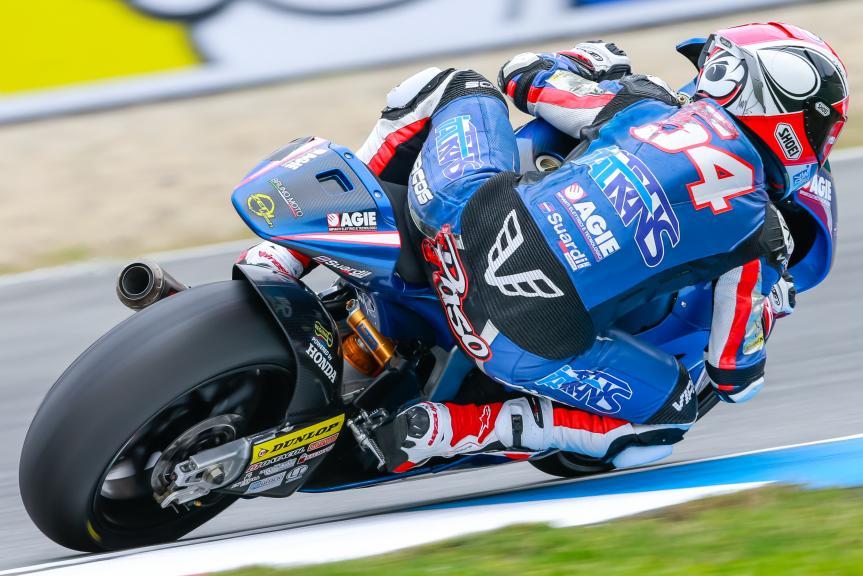 Mattia Pasini, Italtrans Racing Team, HJC Helmets Grand Prix České republiky