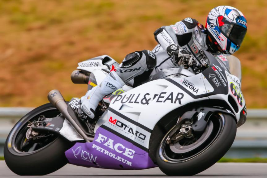 Yonny Hernandez, Aspar Team MotoGP, HJC Helmets Grand Prix České republiky