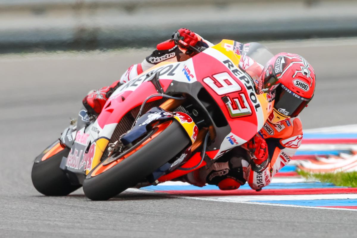 Marquez fastest on Friday in Brno | MotoGP™