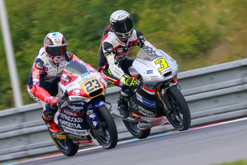 Fabio Spiranelli, Niccolò Antonelli, HJC Helmets Grand Prix České republiky