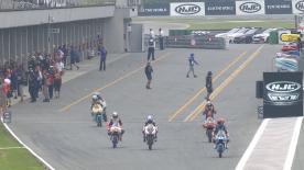 Moto3™: la terza sessione di libere al GP della Repubblica Ceca.