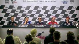 I piloti più veloci commentano i loro risultati nelle qualifiche a Brno.